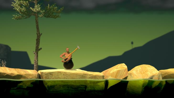 Getting Over It with Bennett Foddy (Humble Bundle 2017, O: Bennett Foddy)